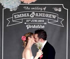 wedding backdrop ireland personalised chalkboard party backdrop by modo creative