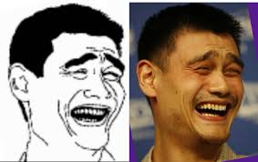 Jao Ming Meme - photos yao ming s face photoshopped throughout the ages shanghaiist