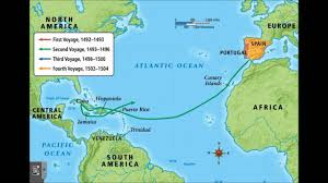 Magellan Route Map by Christopher Columbus Exploration 1492 1504 Youtube