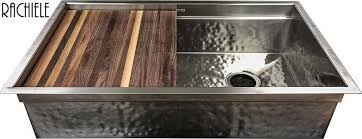 Custom Copper And Stainless Sinks For The Kitchen And Bathroom - Hammered kitchen sink