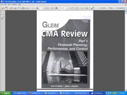 finance u0026 accounting study material gleim cma and wiley cma review