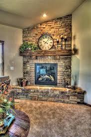 Cajun Home Decor by Stone And Brick Corner Fireplace Design Corner Fireplace Design