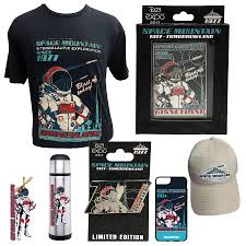 halloween horror nights merchandise first look at some of the d23 expo merchandise