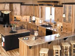 how to clean wood kitchen cabinets naturally 33 best ideas hickory cabinets for naturally beautiful kitchen