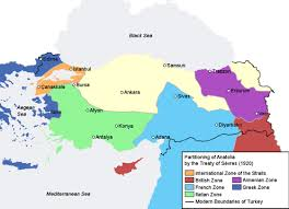 Provinces Of The Ottoman Empire Proposed Partitioning Of The Ottoman Empire By European Nations
