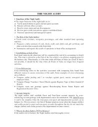 Nanny Job Description Resume by Concierge Job Description Resume Resume For Your Job Application