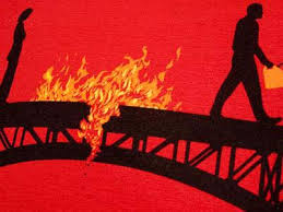 may the bridges i burn light the way vetements water breaks with lori may the bridges i burn light my way