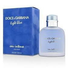 dolce and gabbana light blue 3 3 oz amazon dolce gabbana light blue eau intense pour homme edp 3 3 oz 100