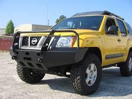 nissan xterra front bumper customize wincher
