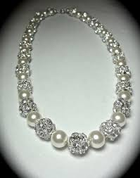 pearl necklace diamonds images Miracle diamond pearl necklace best necklace jpg