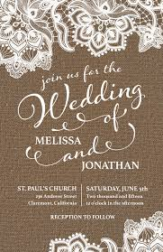 rustic lace wedding invitations wedding inspiration u0026 invitation