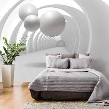 Ebay Schlafzimmer Komplett In K N Vlies Fototapete Tapeten Tapete 3d Tunnel Kugel Vlies Ecke