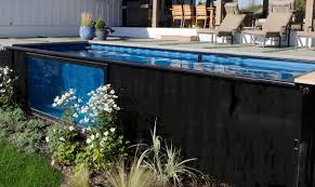 shipping container chic recycled swimming pools by modpools