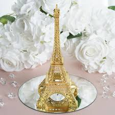 eiffel tower centerpiece treasured affection eiffel tower centerpiece 10 gold efavormart