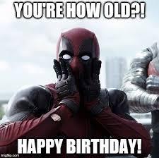 Superhero Birthday Meme - deadpool surprised meme imgflip