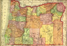Oregon County Map With Cities by Tillamook County Oregon Genweb Project Maps