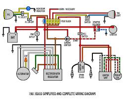 yamaha xs650 wiring diagram yamaha wiring diagrams collection