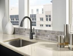 the raya kitchen faucet pfister faucets kitchen bath design blog beyond sleek and moving into minimalist territory raya is the ergonomic sink topper that generates