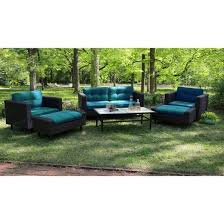 Wright Piece Wicker Patio Conversation Patio Furniture Set  Target - Outdoor furniture set