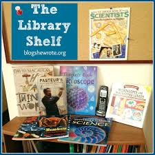 organizing your homeschool library blog she wrote