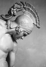 statue with mythalogical helmets in rome search all things