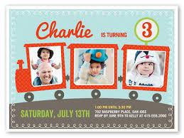 party train 6x8 invitation birthday boy invitations shutterfly