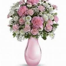 Pretty Vase Birthday Flower Delivery In Hampton Falls Flowers By Marianne