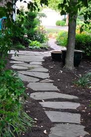 Pictures Of Stone Walkways by Walkways U0026 Pathways In Chester County Naturescapes Landscaping