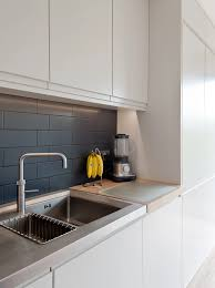 Independent Kitchen Designer by Cris Sega Designs Contemporary Matt Lacquer Kitchen