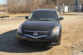 2007 nissan altima black used sedan sale