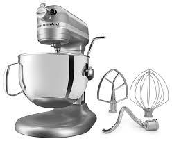 kitchenaid kl26m1xsl professional 6 qt bowl lift stand mixer