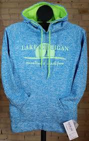lake michigan unsalted u0026 shark free glitter hooded sweatshirt