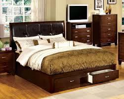 Queen Size Platform Bed - wooden queen size platform bed with drawers good queen size