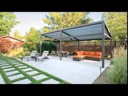Simple Backyard Patios 15 Contemporary Backyard Patio Designs Youtube
