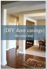 diy molding diy door molding and casings a charming nest the inspired room