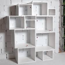 Redford White Corner Bookcase by