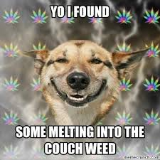 Melting Meme - into the couch