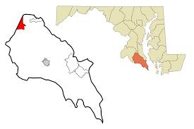 Charlotte Zip Code Map by Charlotte Hall Maryland Wikipedia