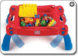 my first mega bloks table amazon com mega bloks play n go table colors may vary toys games