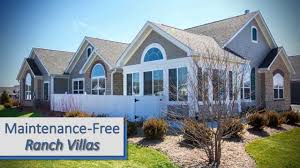 the villas at fox run in plainfield il an epcon community youtube