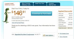Geico Estimate Car Insurance by Geico Insurance Quote Alexdapiata Com