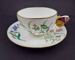 teacup and saucer antique minton butterfly handle tea cup saucer ebay