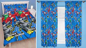 Superhero Double Duvet Set Justice League Inception Kids Superhero Double Duvet Bedding U0026 66