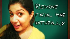 stop womens chin hair growth remove facial hair in 10 min naturally quick and easy youtube