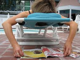outdoor reading chair ergonomic chair takes pain out of poolside lounging swimming
