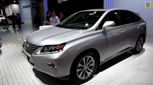 lexus interior 2012 2013 lexus rx450h hybrid exterior and interior walkaround 2012