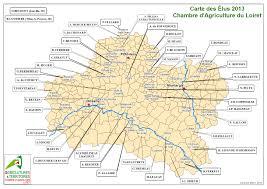 chambre agriculture du loiret carte loiret carte du monde