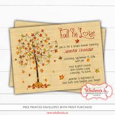 where to register for a bridal shower fall in bridal shower invitation fall bridal shower