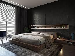 Schlafzimmer Ideen Mit Schwarzem Bett Stilvolle Schlafzimmer Mit Schwarzer Wand Dekorieren Mit Dunklen
