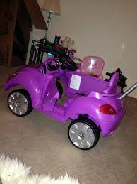 volkswagen beetle purple used purple vw beetle ride in push along car in me2 strood for